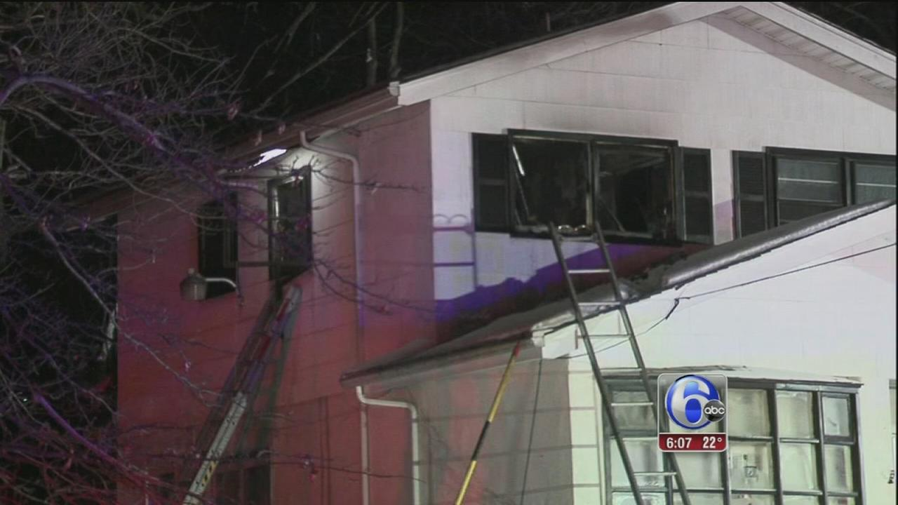 Husband, wife hurt in Somerdale, N.J. house fire