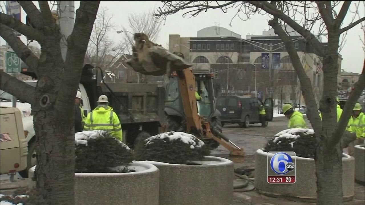 Sinkhole closes court facilities in Trenton