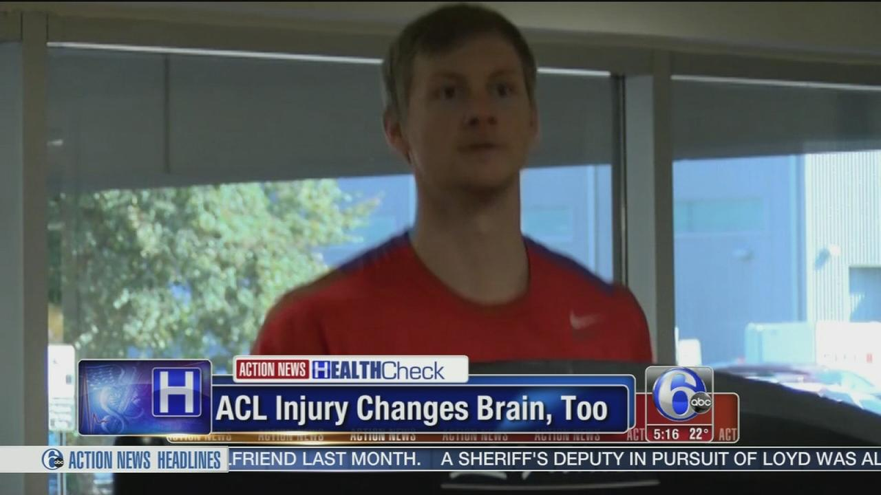 Researchers: Knee injury affects the brain