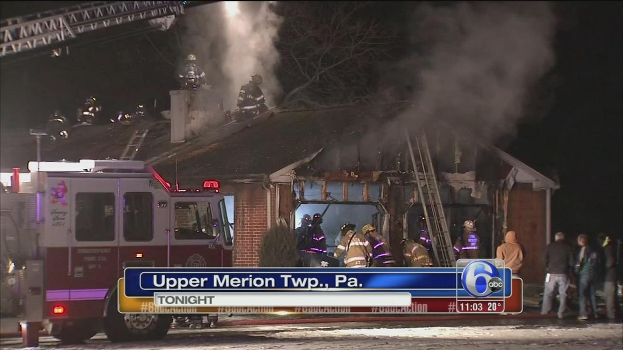 Fire in Upper Merion Township