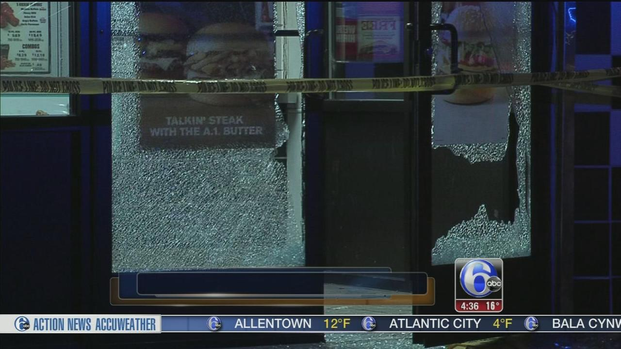Shots fired at Checkers restaurant in SW Philly