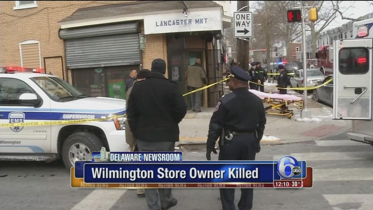 Wilmington store owner killed in shooting