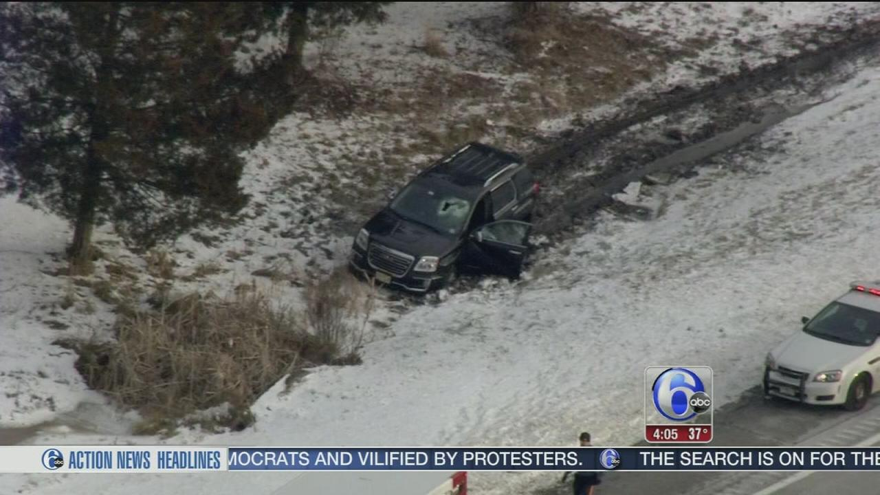 Search for witnesses in dumbbell crash