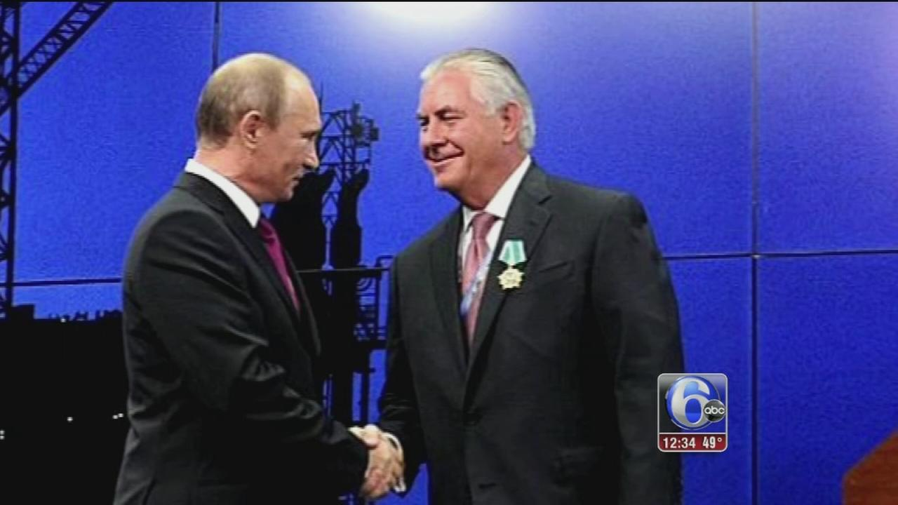 Russia friend Tillerson adopts tough line on Moscow