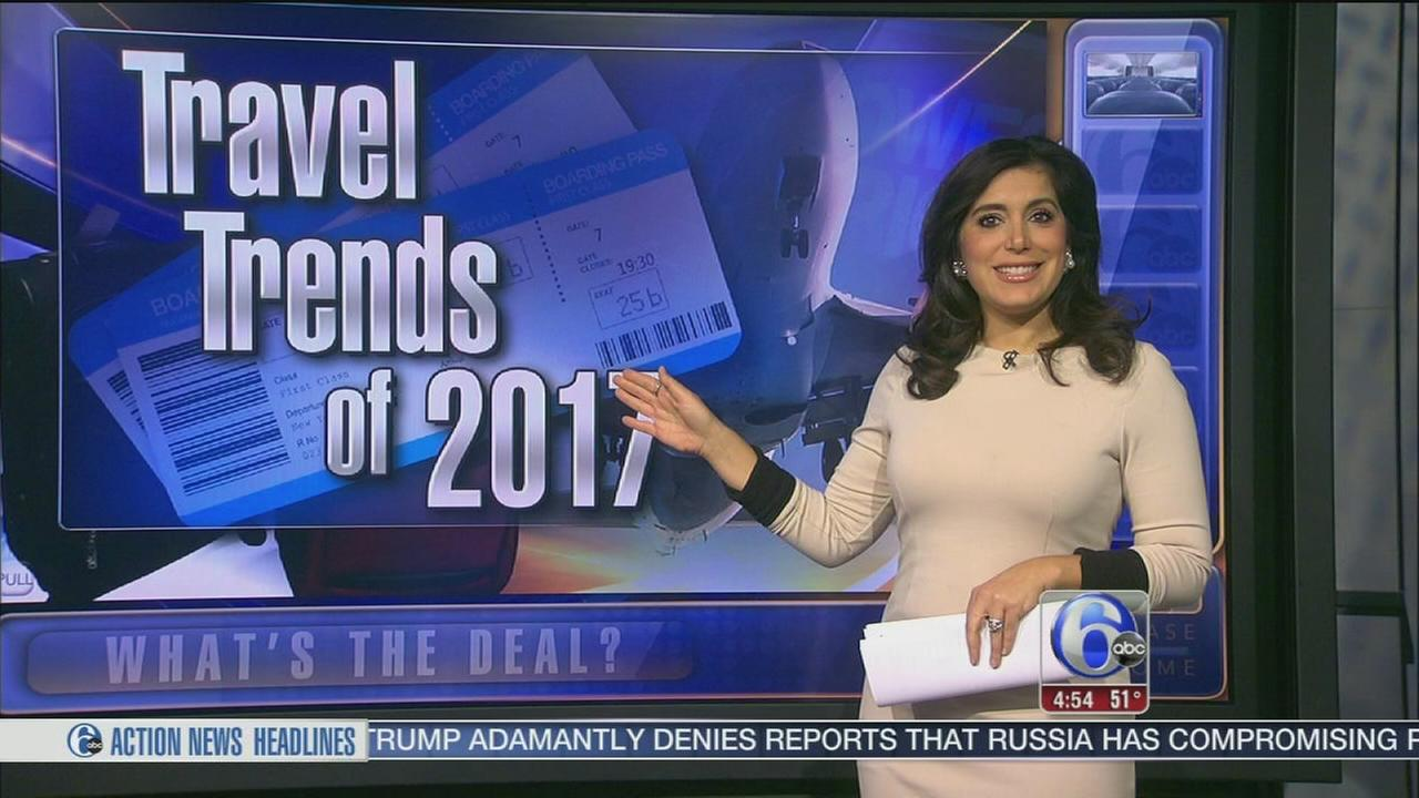 Whats the Deal: Top travel trends of 2017