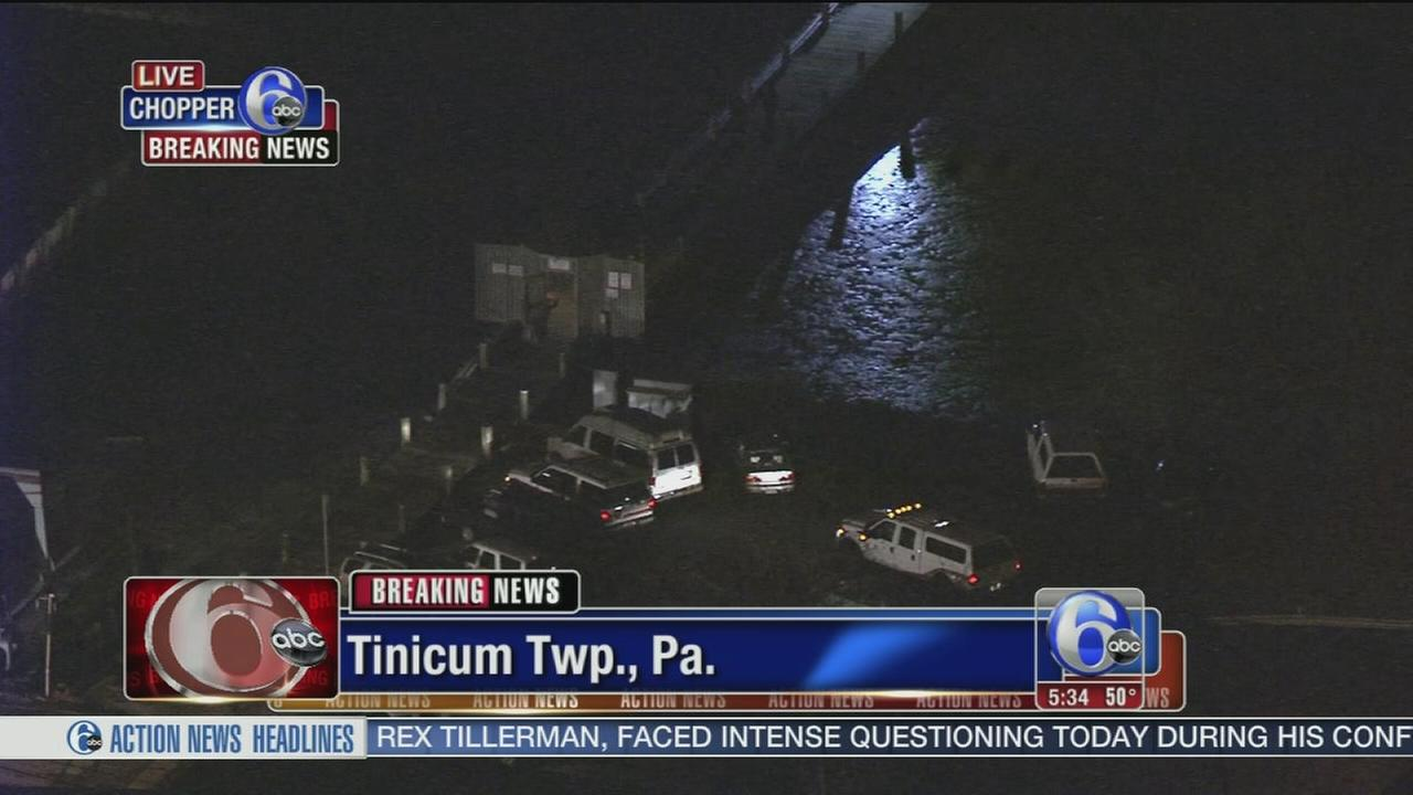 Emergency crews respond to fuel spill in Delaware River
