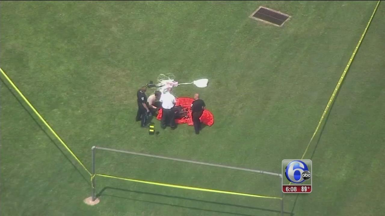 VIDEO: 2 injured in Perkasie skydiving accident ID?d