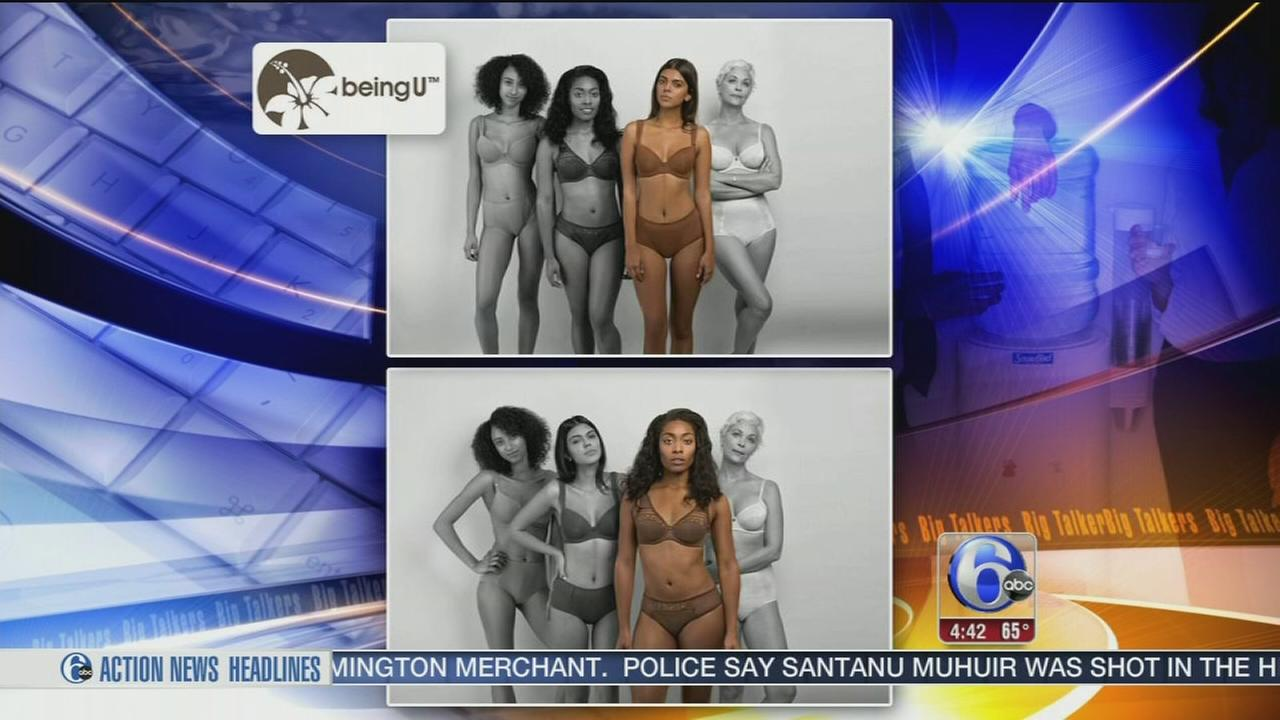Designer creates nude underwear for every skin tone