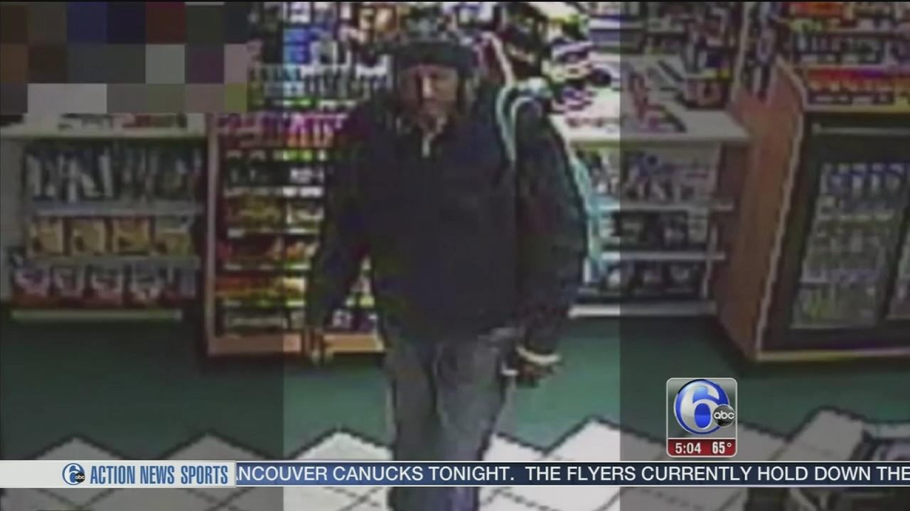 Camden police search for gas station robber