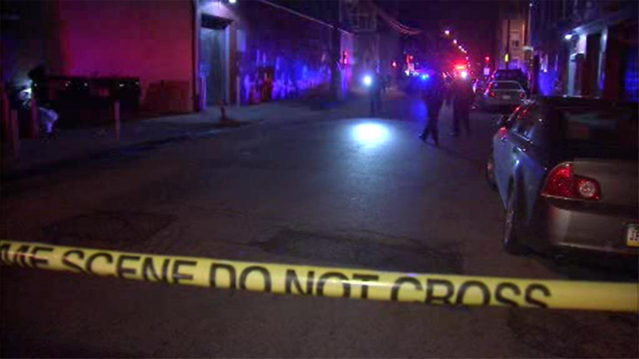 Police are investigating a double shooting in Philadelphias Germantown section.