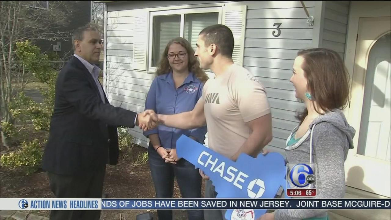 Big surprise for Air Force veteran