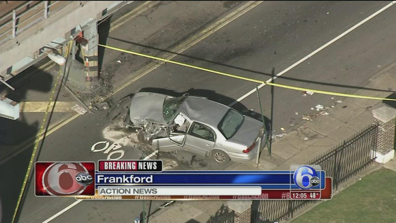 Serious crash in Frankford