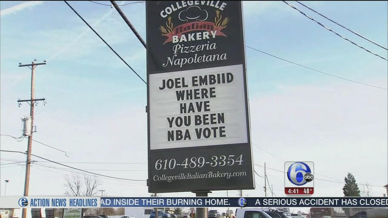Local bakery plays matchmaker for Sixers star Joel Embiid