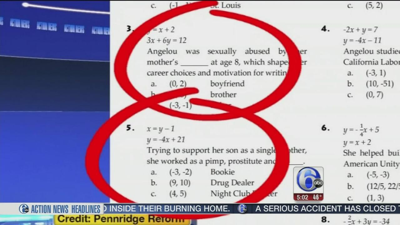 Bucks school district apologizes for adult content in homework