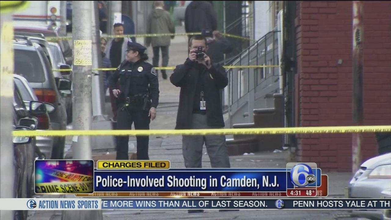Man charged in police-involved shooting in Camden
