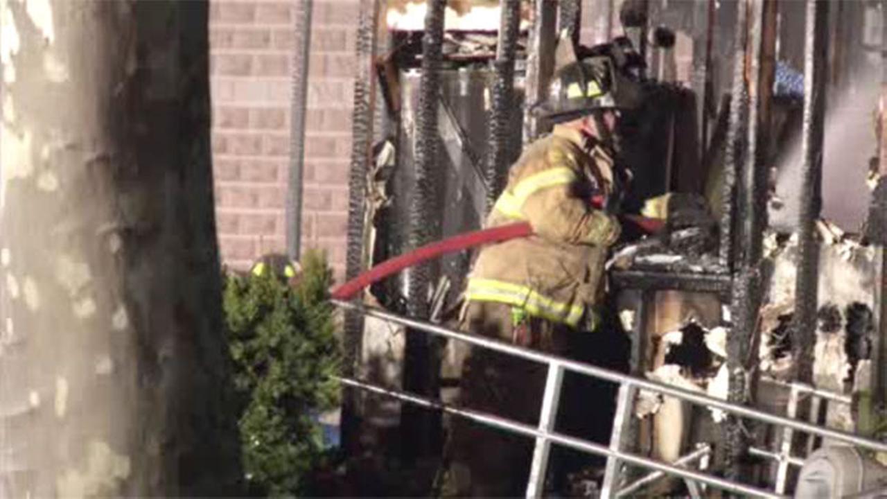 Homeowner suffers smoke inhalation in Burlco house fire