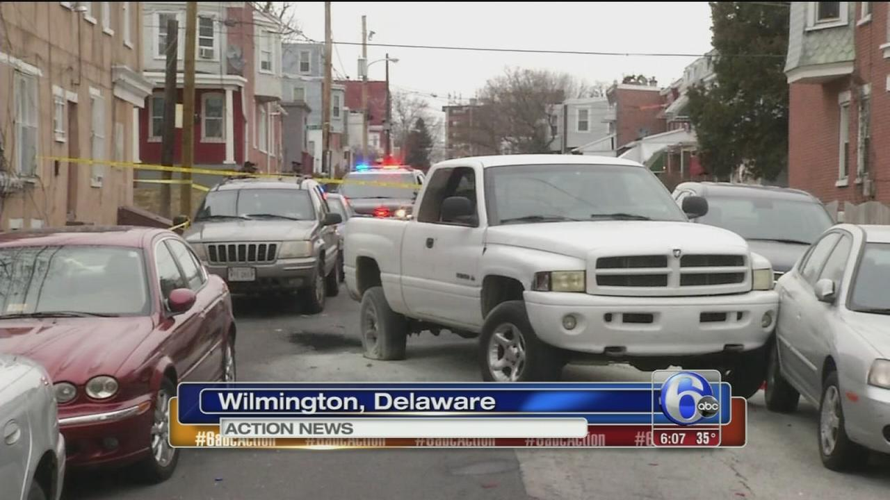Man dies after shooting, crash in Wilmington