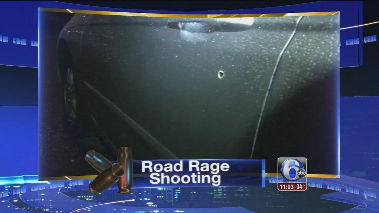 Man hospitalized after road rage shooting in Parkside