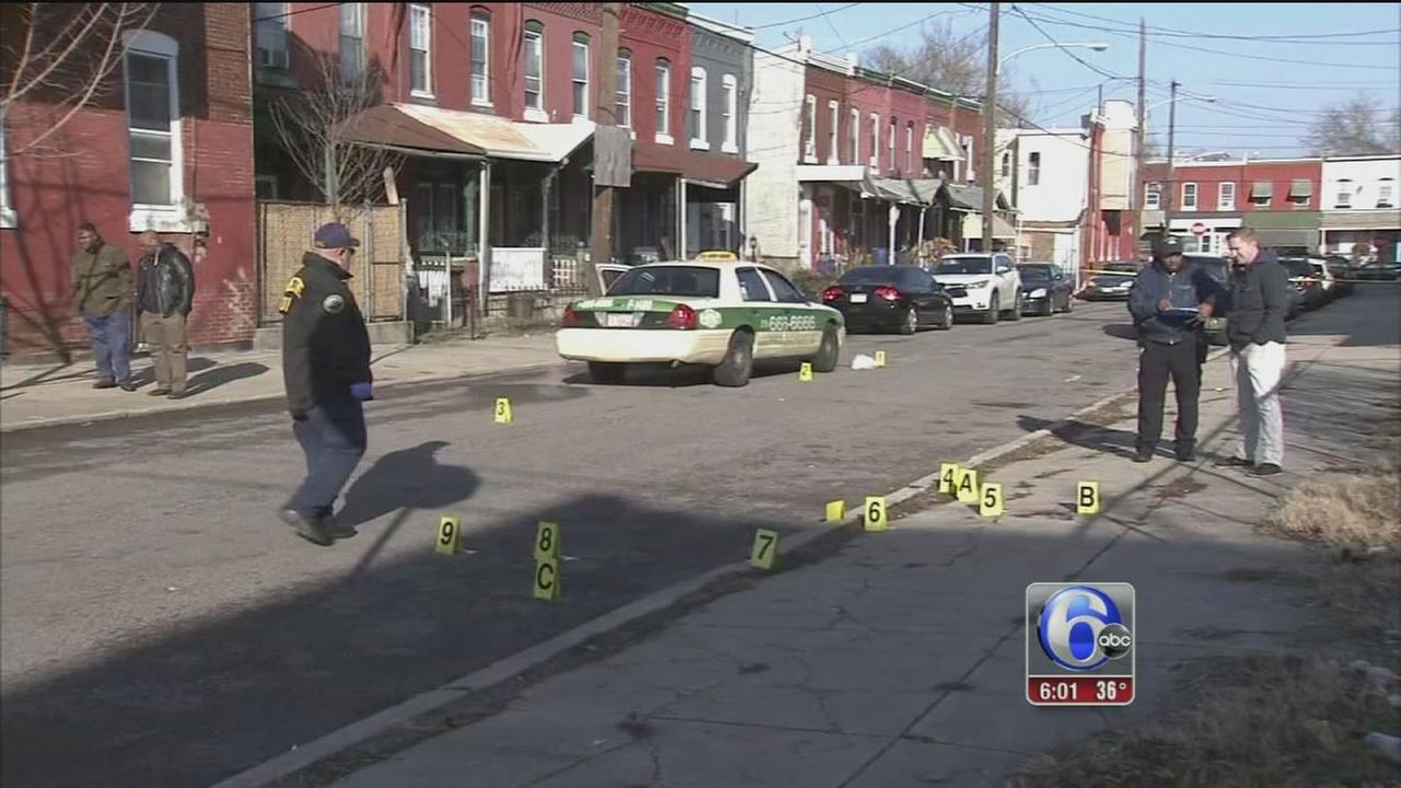 Taxi driver shot 13 times in West Philadelphia