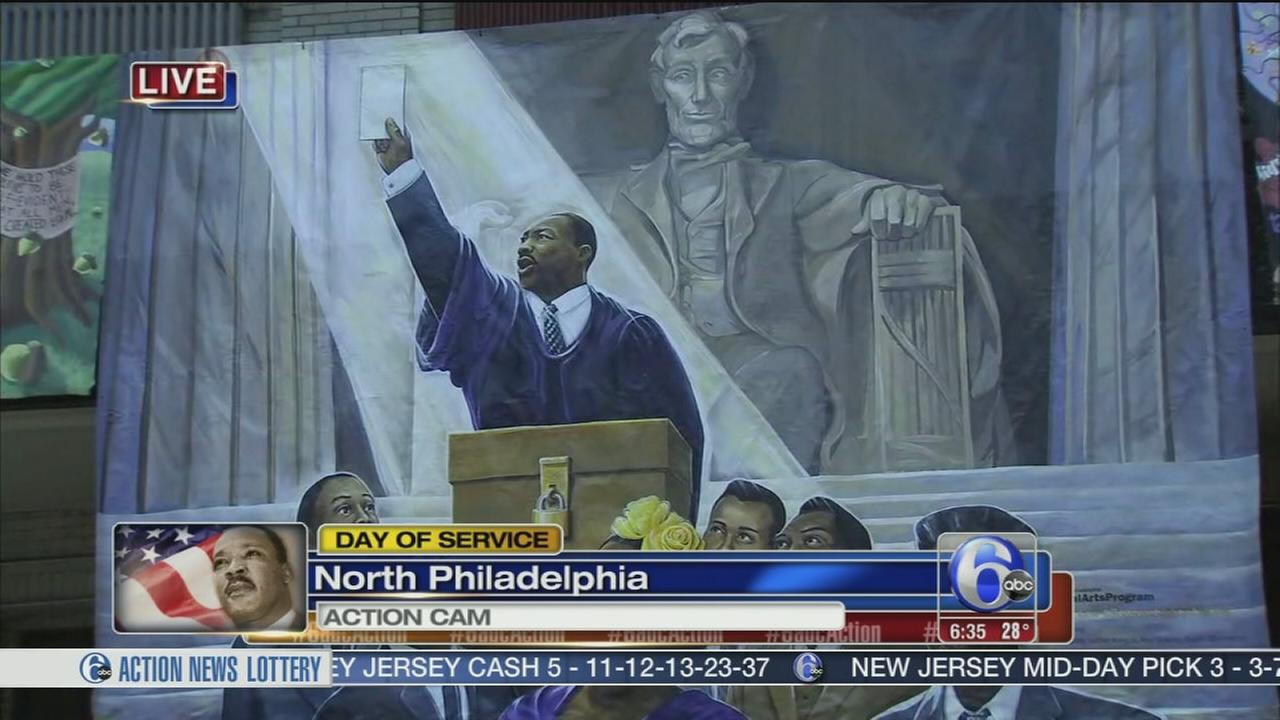 MLK Day of Service in Philly