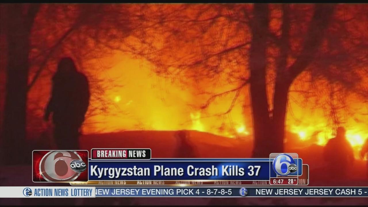 Plane crash kills 37 people