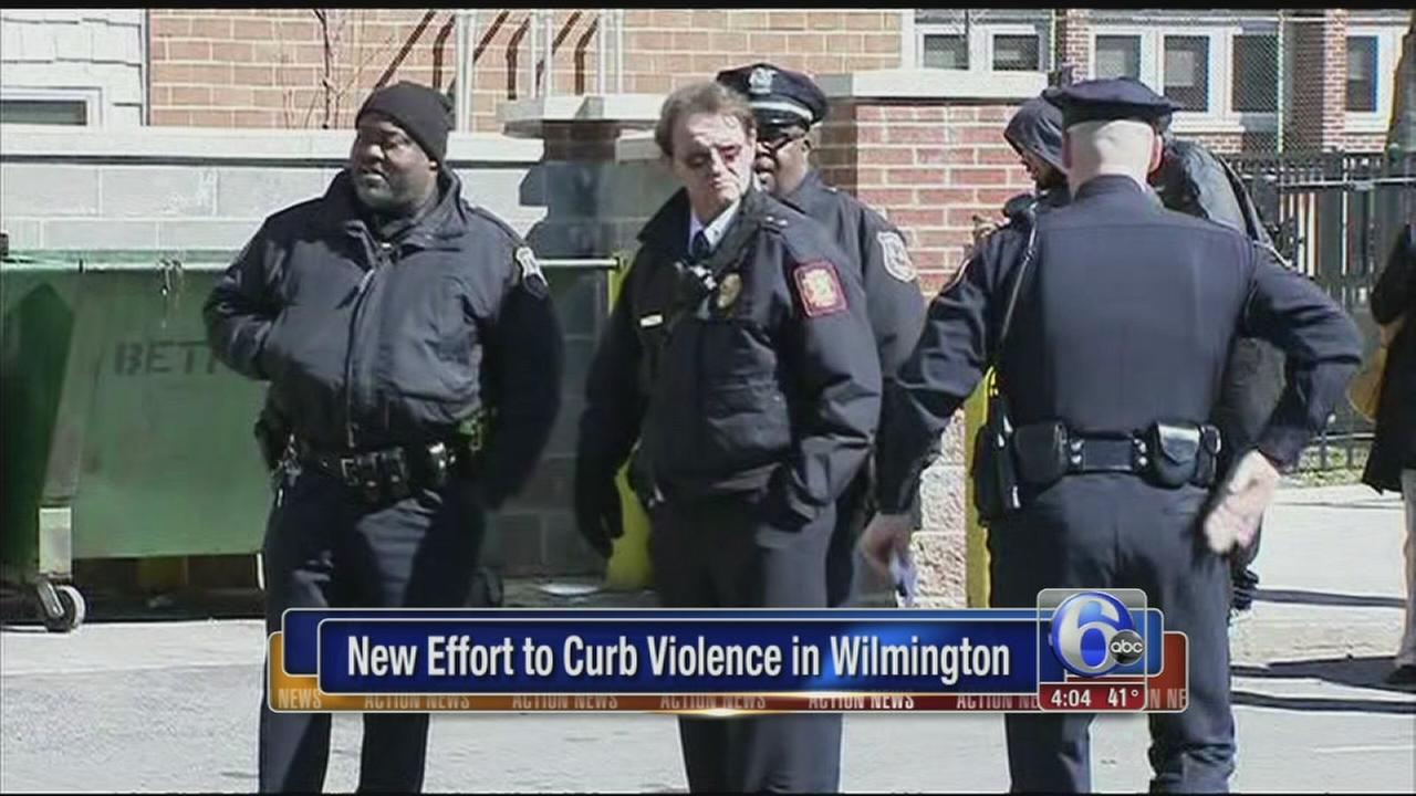 Wilmington mayor details plan to curtail violence