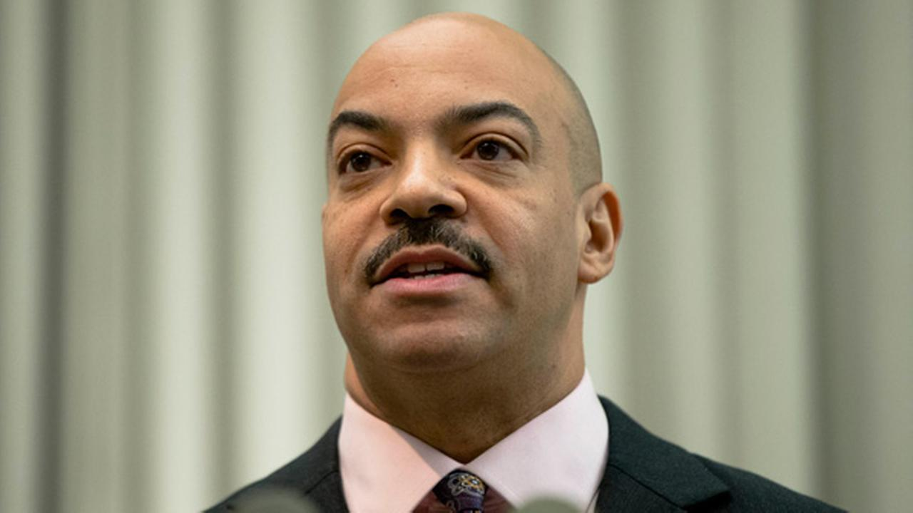 (AP/File Photo) Former Philadelphia District Attorney Seth Williams speaking during a news conference Thursday, Jan. 22, 2015, in Philadelphia.