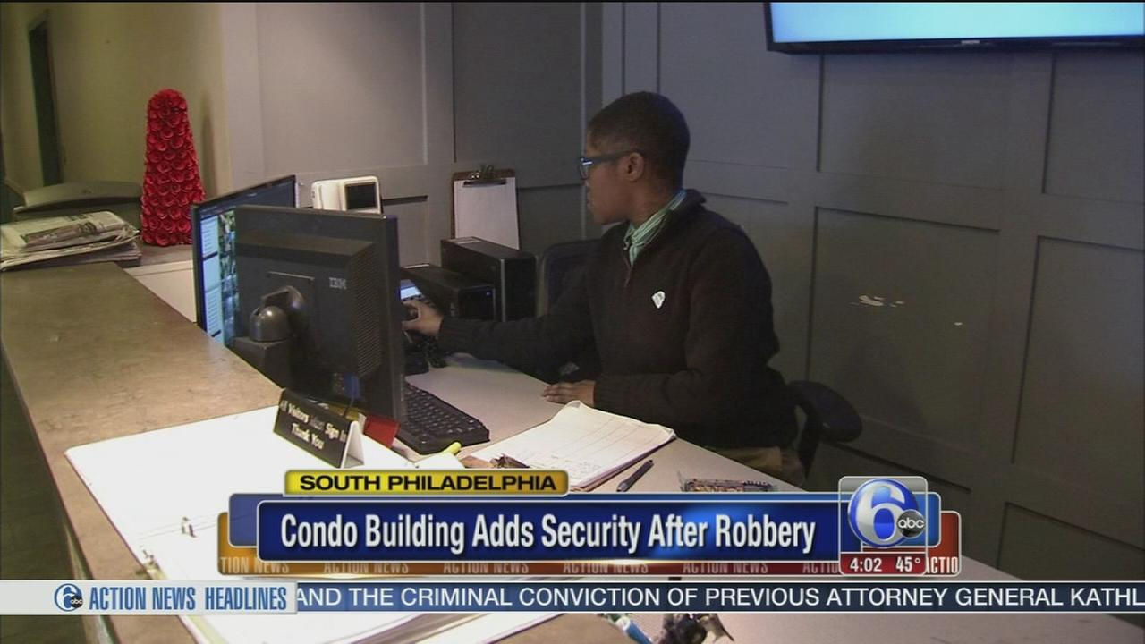 Security increased at S. Philly condos after robbery