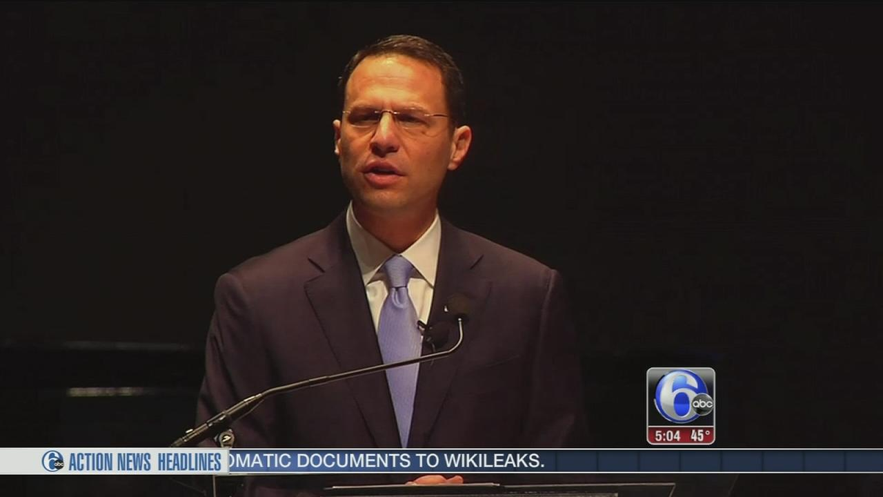 Josh Shapiro sworn in as Pa. Attorney General