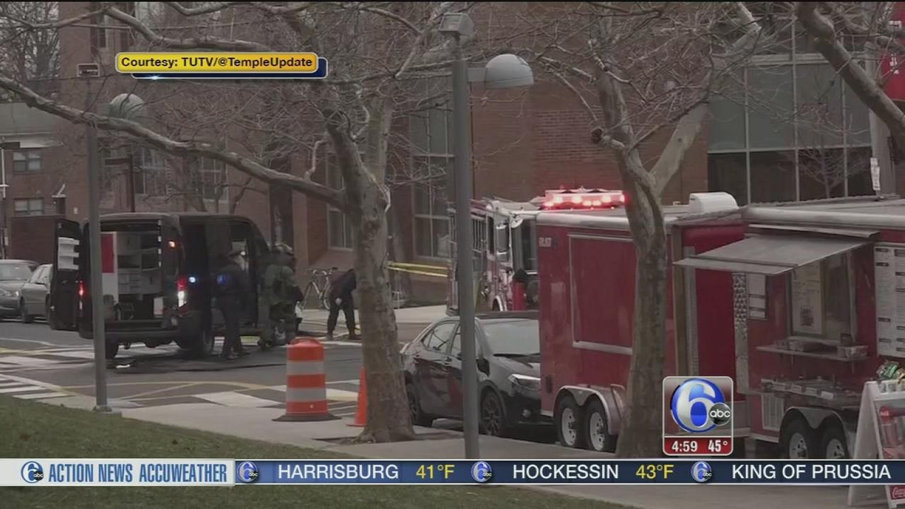Police: All clear after suspicious package found at Temple