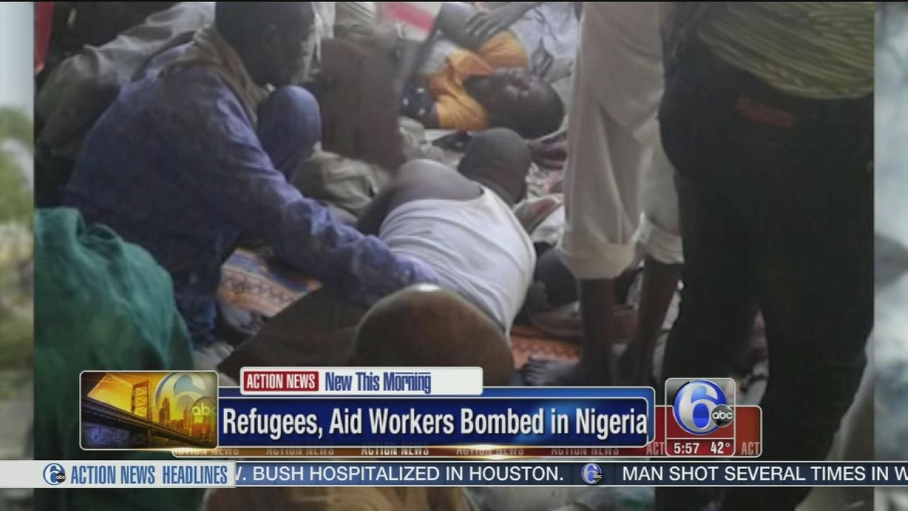 Nigerian air force bombs refugee camp, over 100 dead