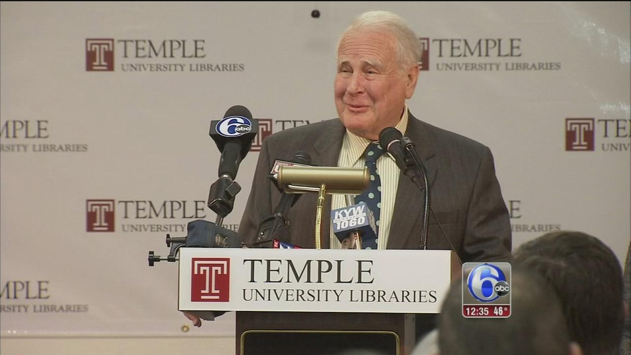 Temples Universitys media school named for broadcast pioneer