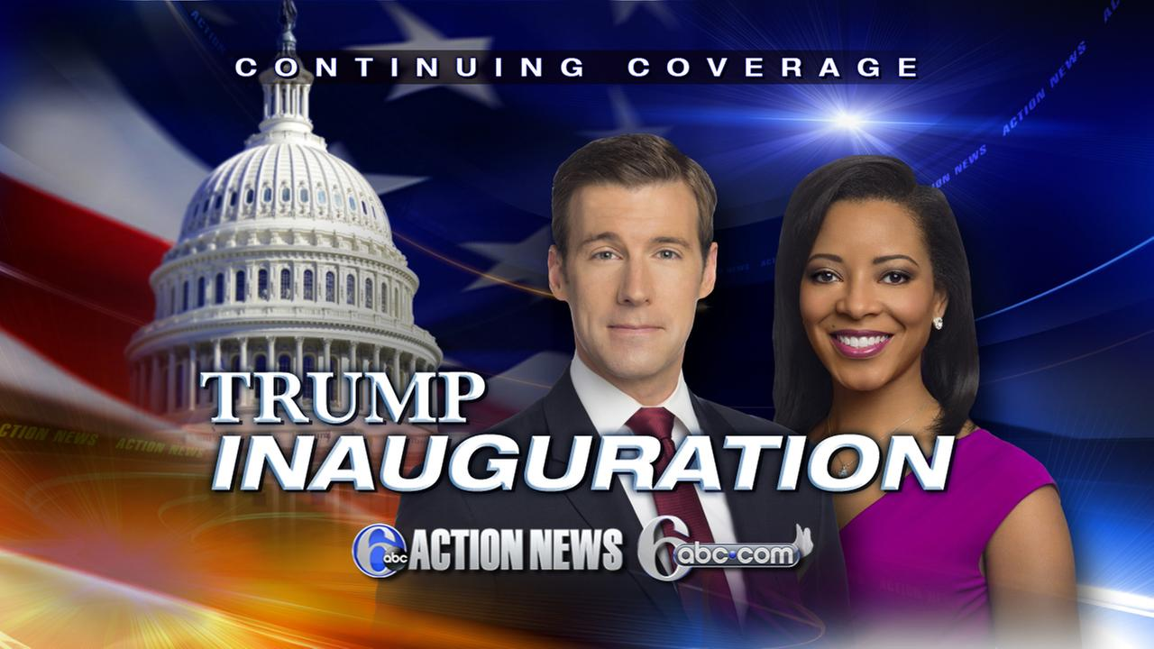 Inauguration coverage: Brian Taff and Sharrie Williams in DC