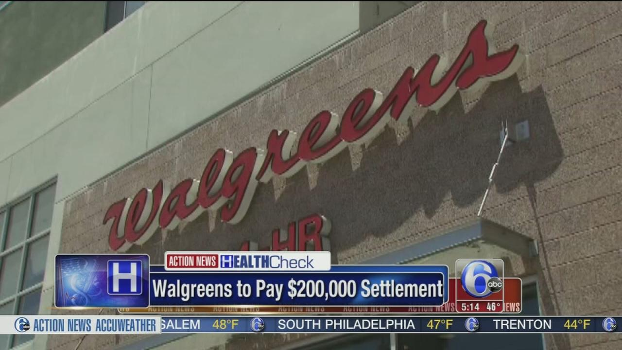 Walgreens to pay $200K settlement for allegedly mishandling opiods