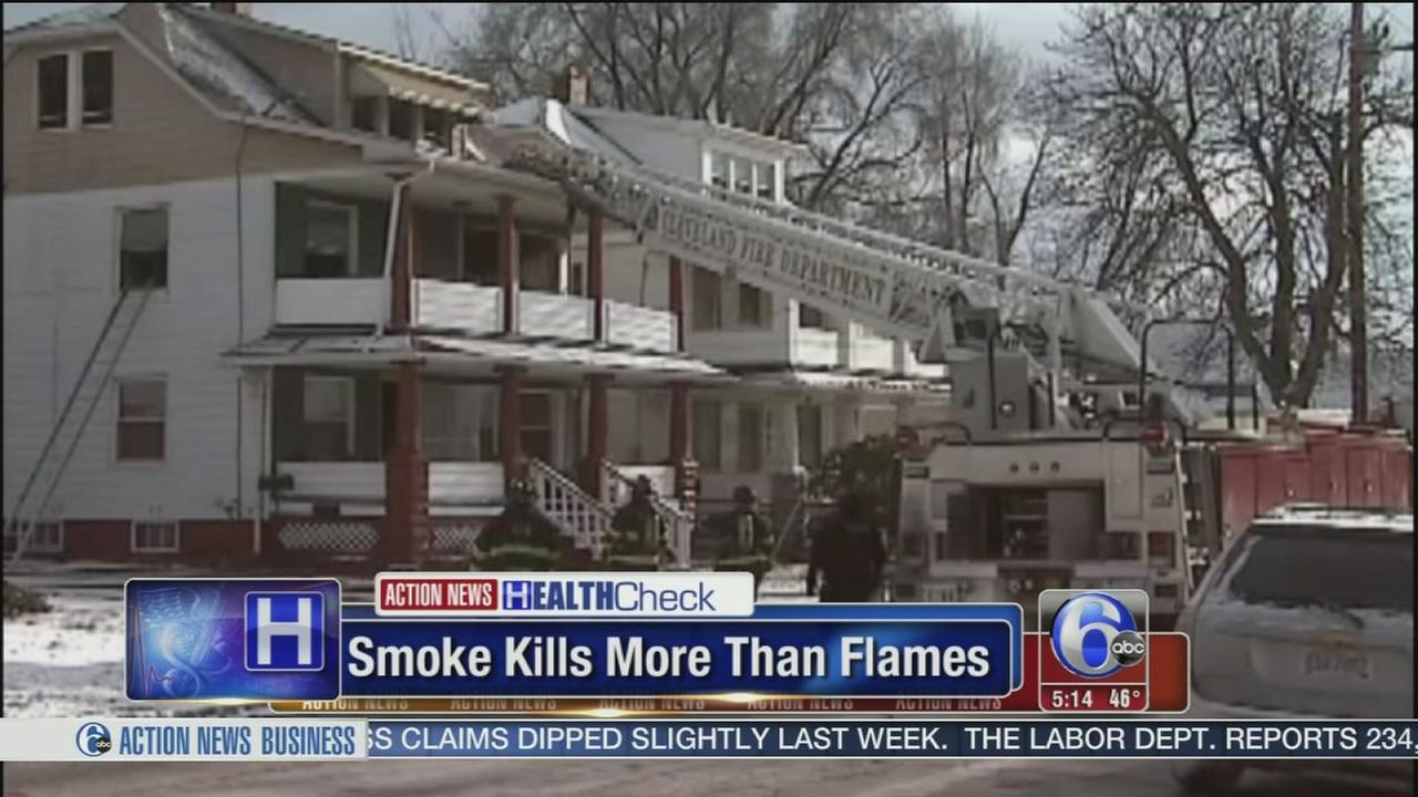 Smoke kills more than flames during a house fire