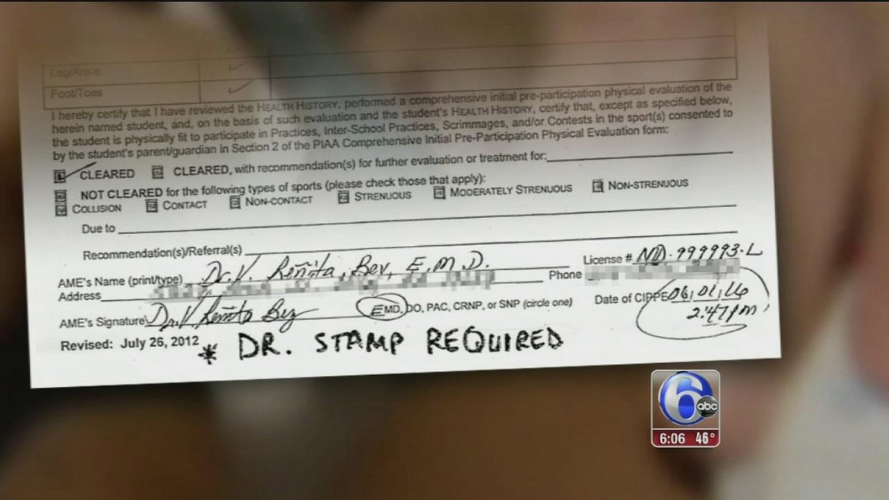 Philly students get physicals from fake doctor