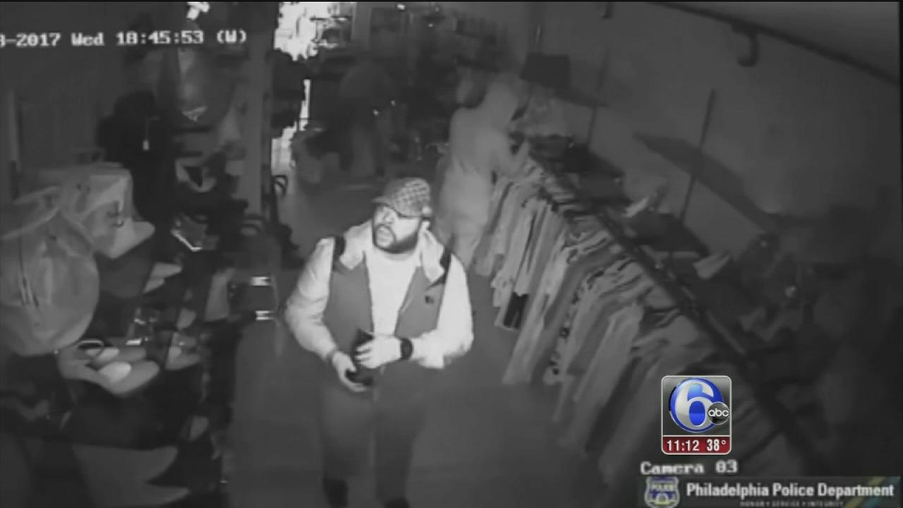 Surveillance video released in Manayunk store robbery