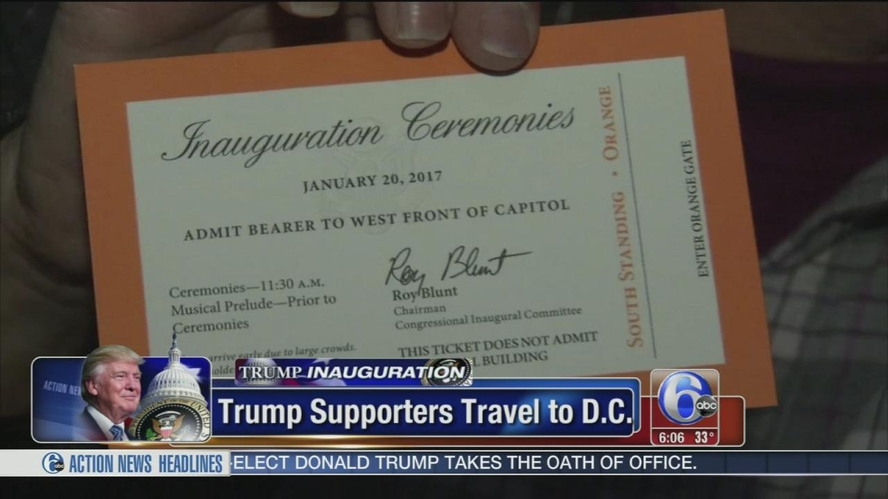 Thousands travel to Inauguration ceremony