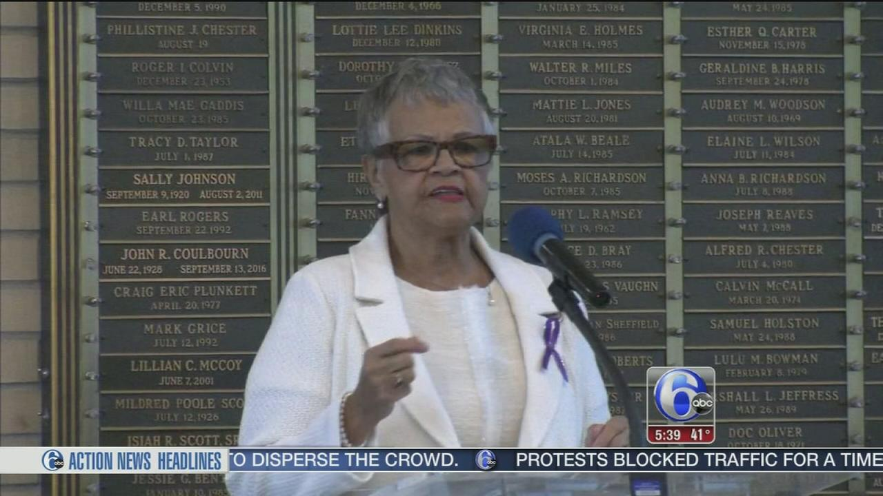 NJ congresswoman boycotts inauguration