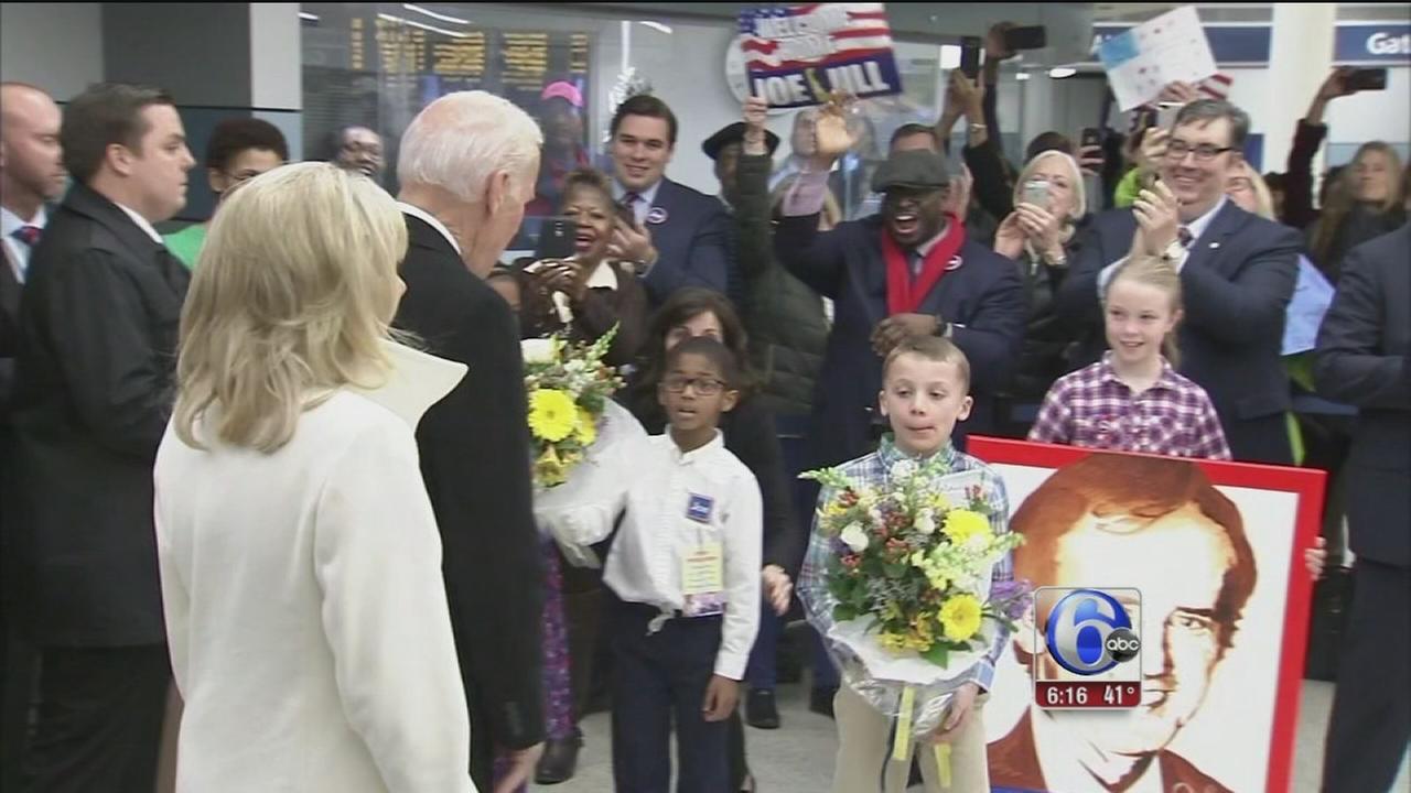 Delaware welcomes Joe Biden home after decades in Washington