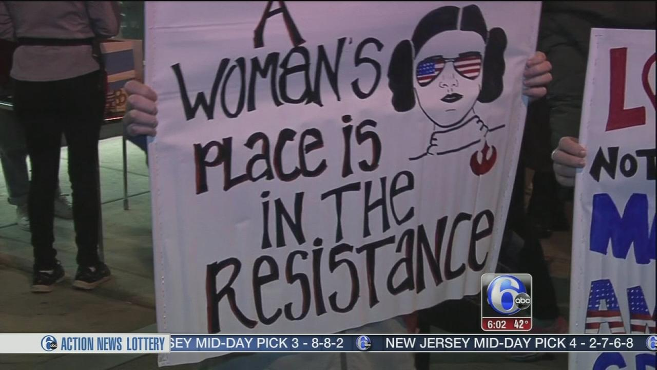 Womens March in Philadelphia among protests today