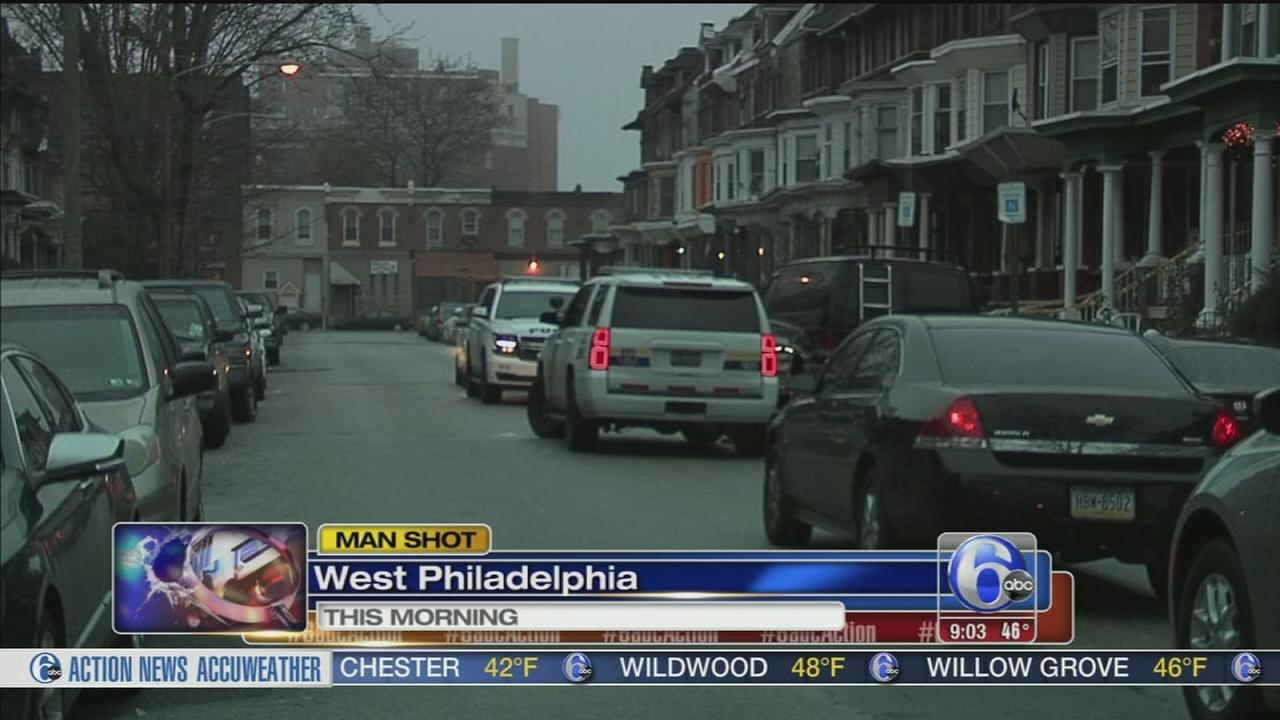 Shooting mystery in West Philadelphia
