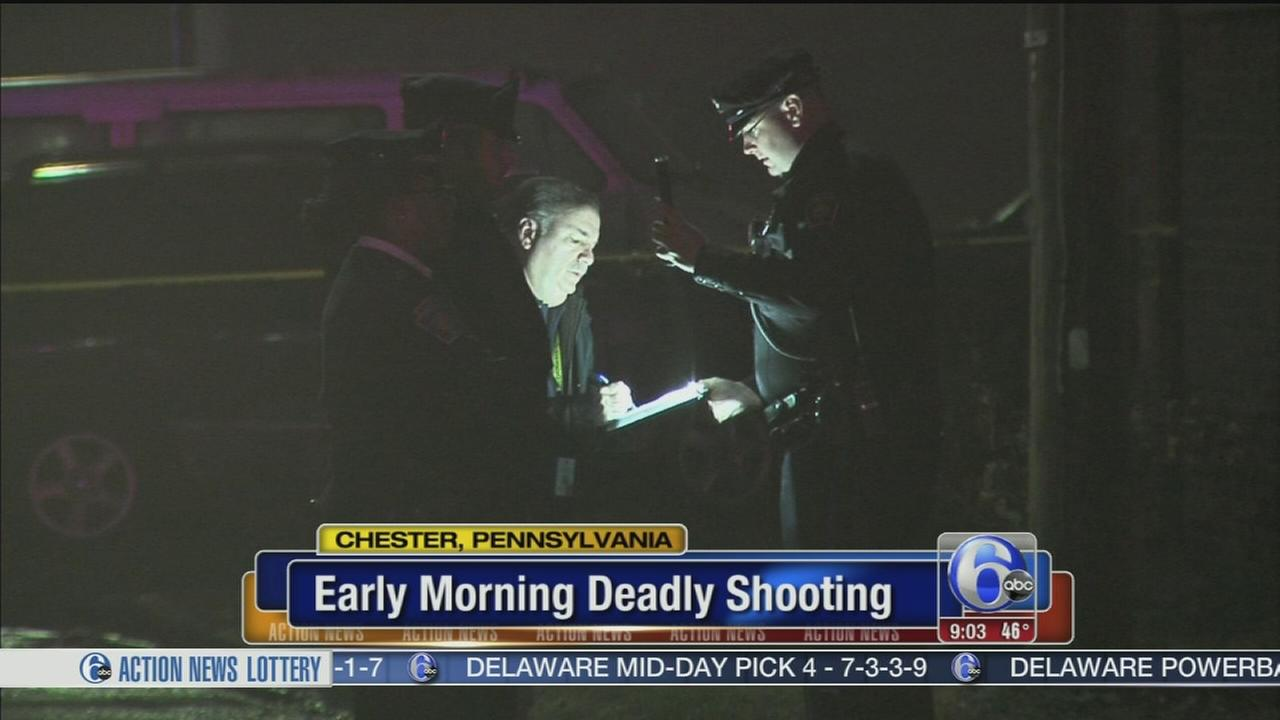 Deadly shooting in Chester, Pa.