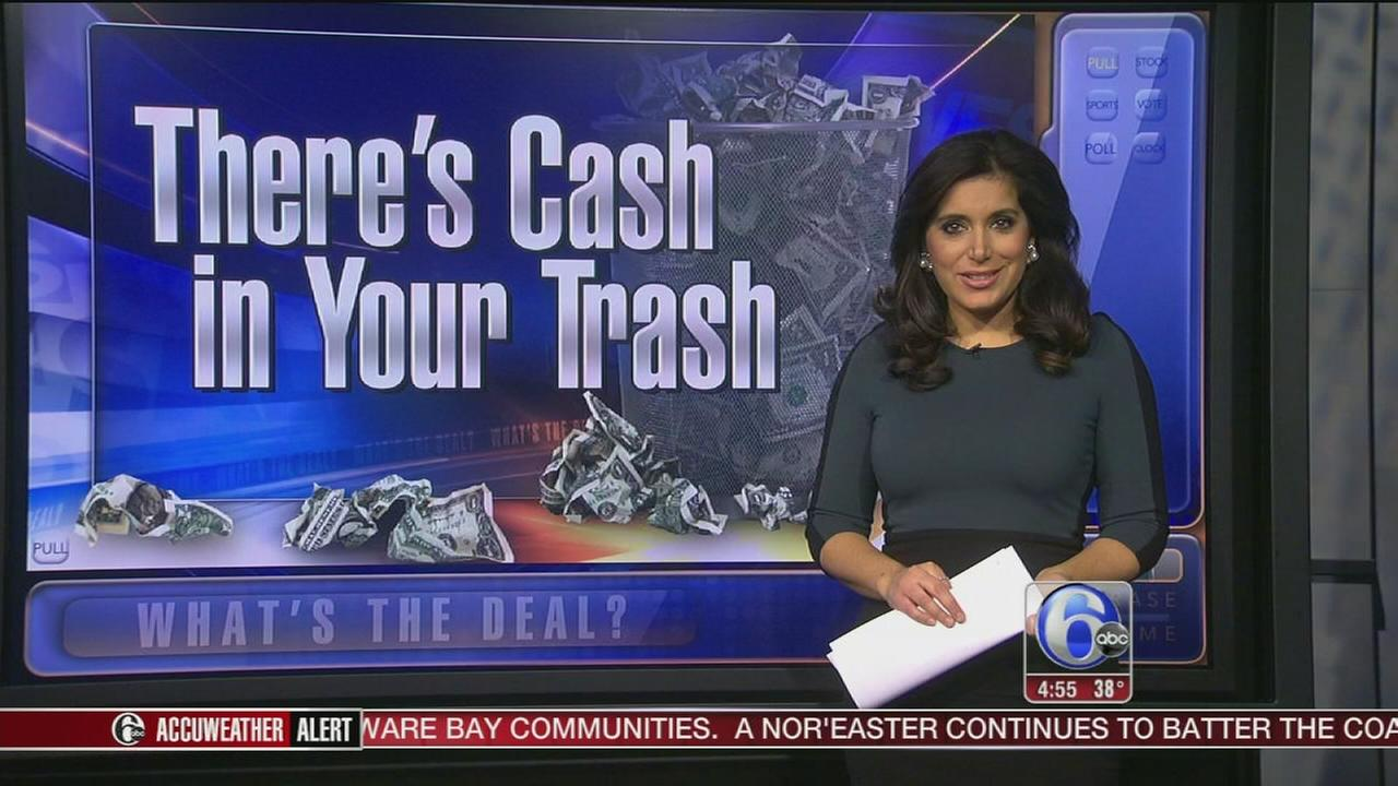 Whats the Deal: Finding cash in your trash