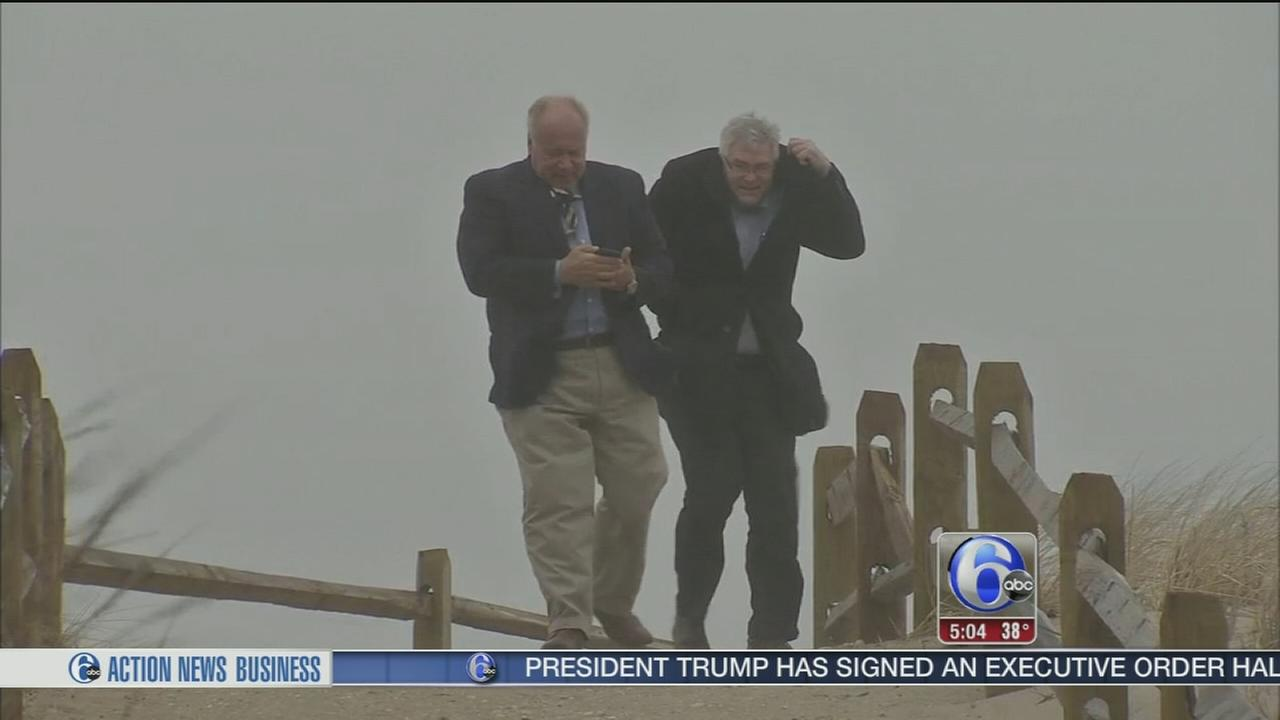 Noreaster hits the Jersey Shore