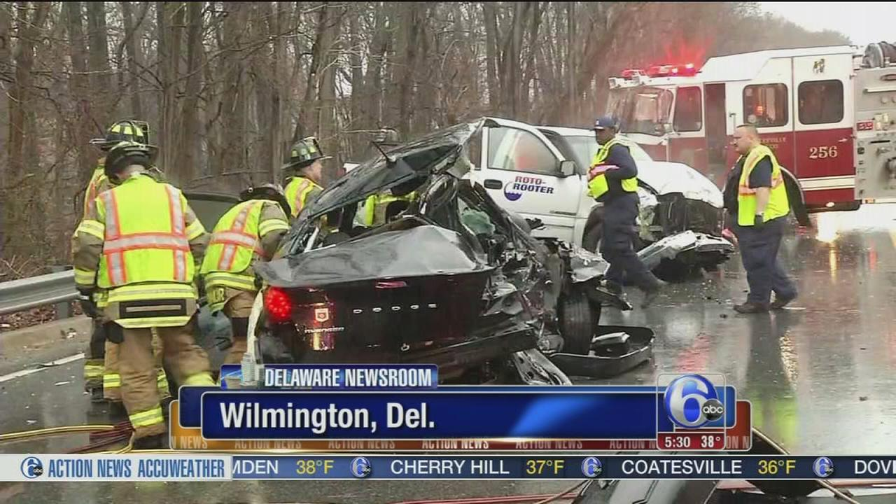 Weather may have played role in Del. crash