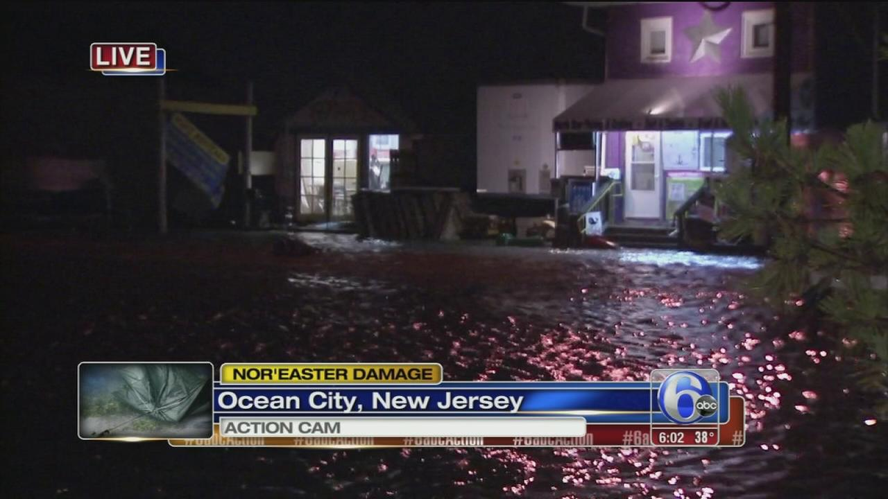 Noreaster brings flooding to Ocean City