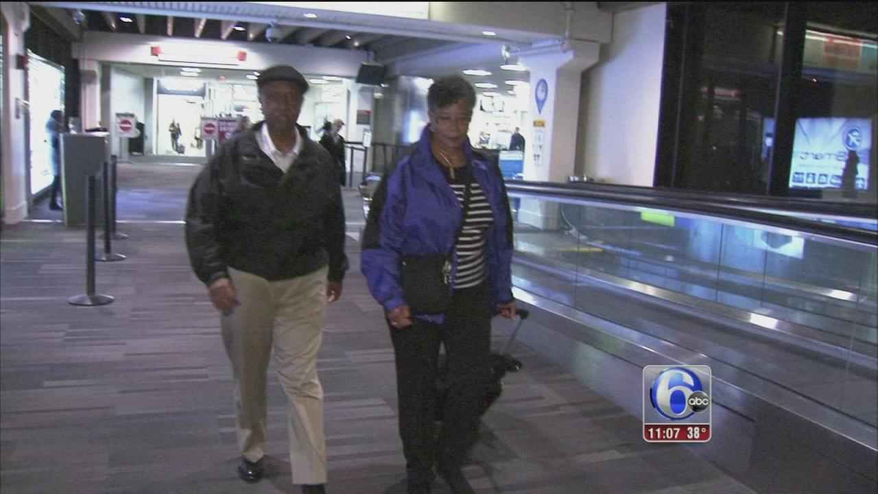 Noreaster reroutes Baltimore couple and many others
