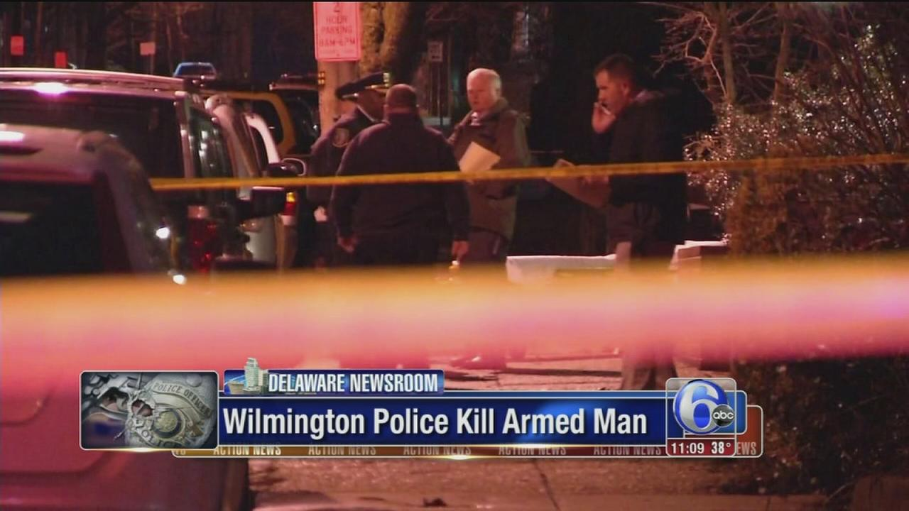 Wilmington police kill armed man