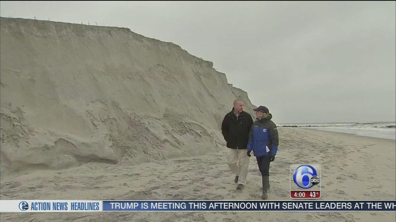 Nor?easter leaves flooding, beach erosion at Jersey shore
